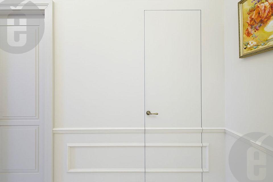 Двери под покраску скрытые
