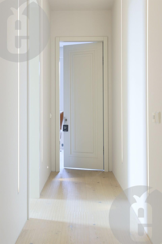 Двери под покраску гладкие на скрытых петлях