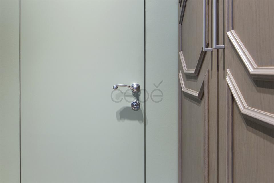 Межкомнатная потайная дверь под покраску