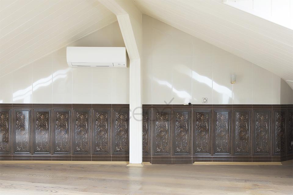 Скрытые двери под кафель