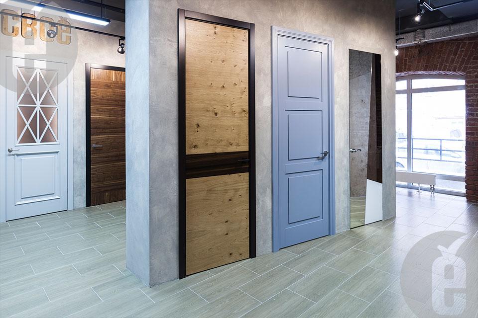 Высококачественные двери от компании «СВОЁ»