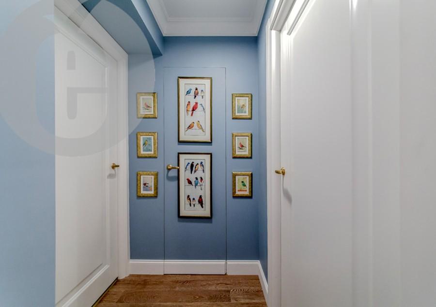 Скрытые деревянные двери под покраску