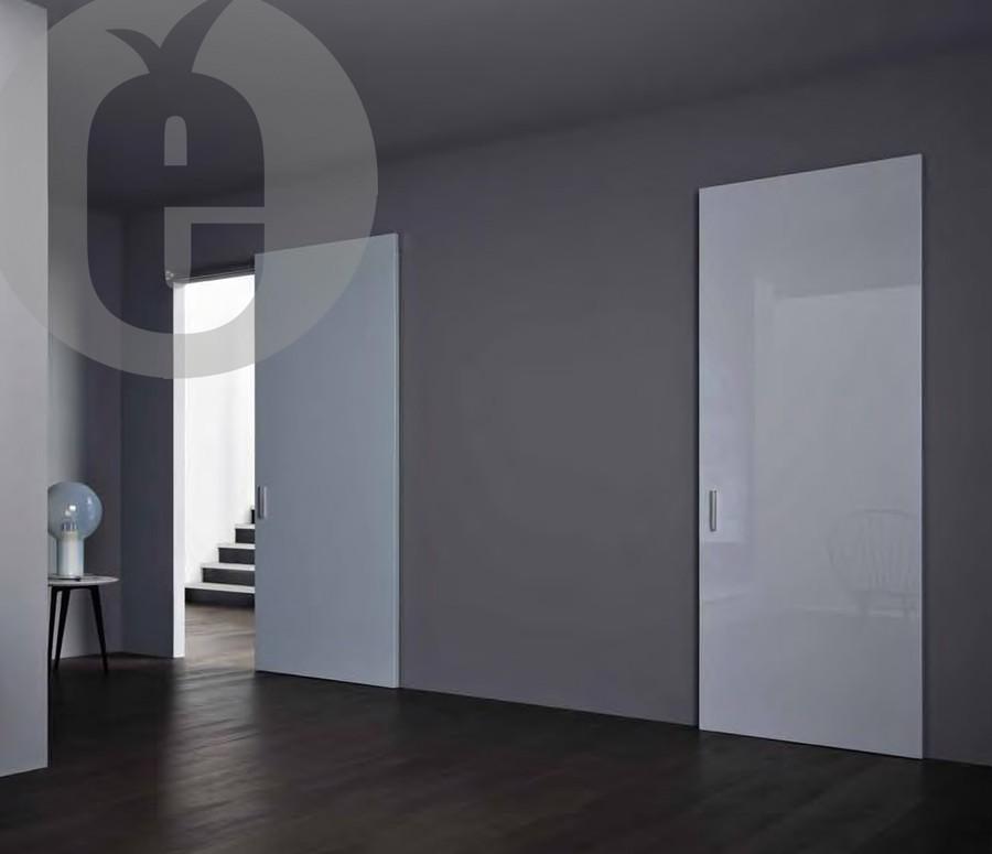 Невидимые раздвижные двери