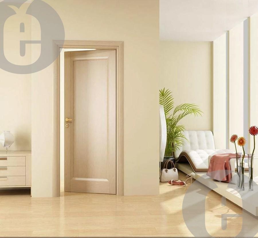 Дверь из массива сосны под покраску