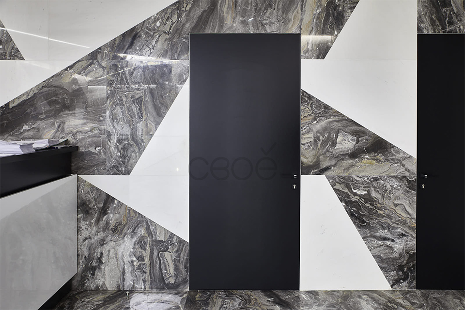 Потайные двери под плитку