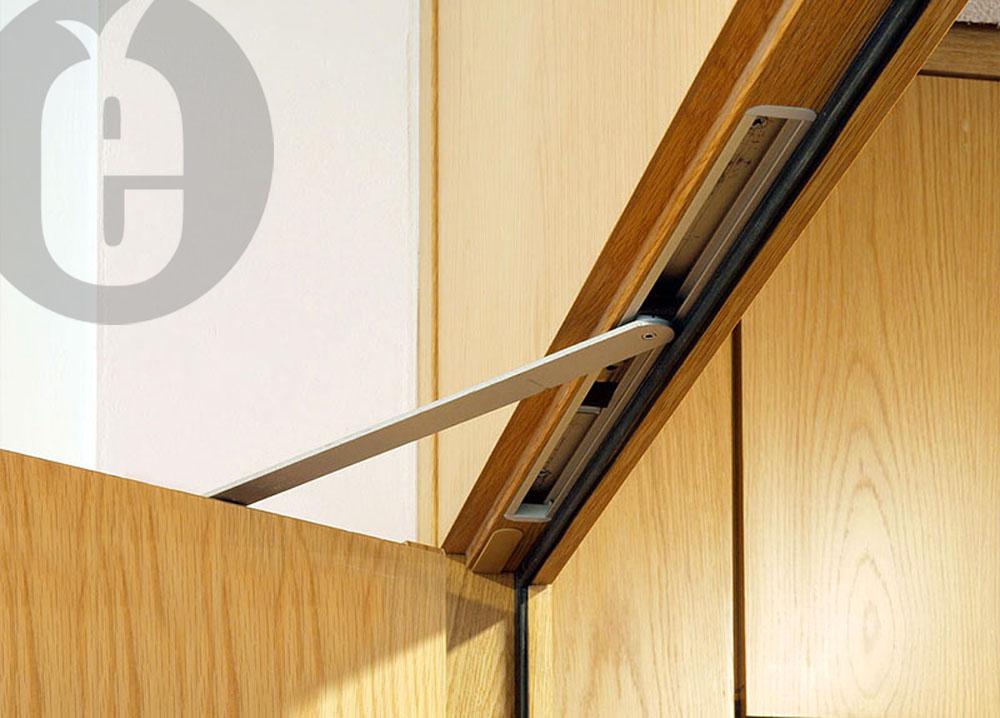 Скрытые доводчики для межкомнатных дверей