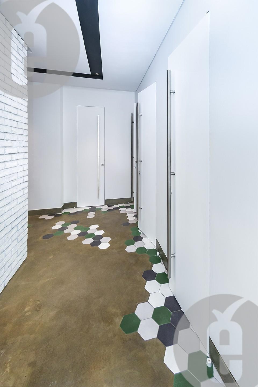 Скрытые двери с доводчиком