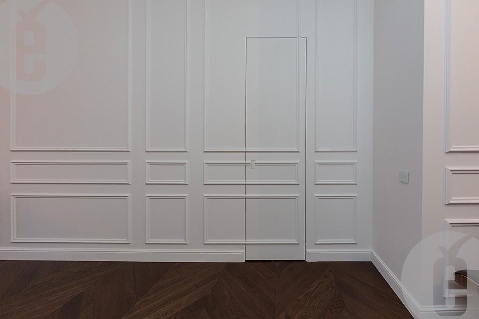 двери скрытой установки