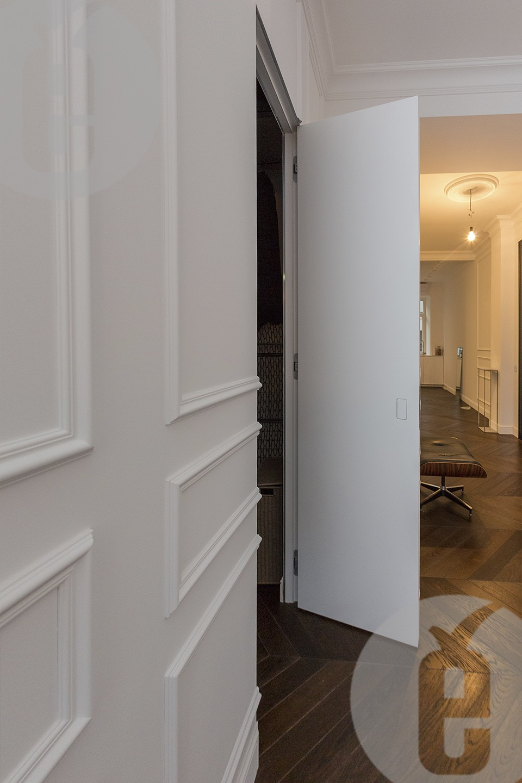 Двери под покраску со скрытыми ручками