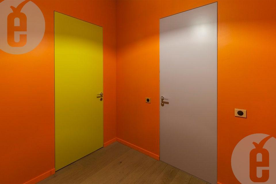 Качественная отделка скрытых дверей