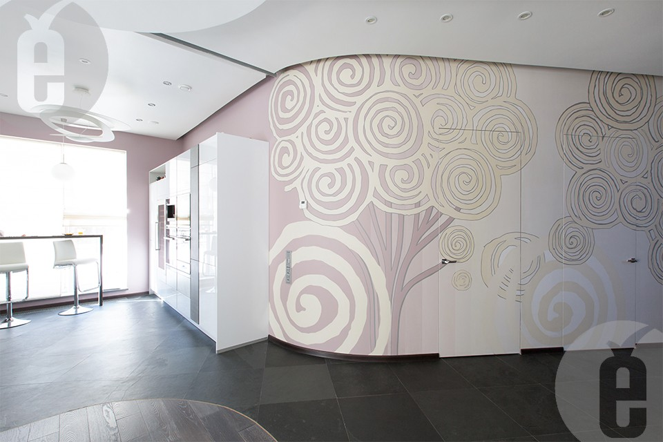 Дверь скрытого монтажа под покраску купить и подобрать для межкомнатного пространства