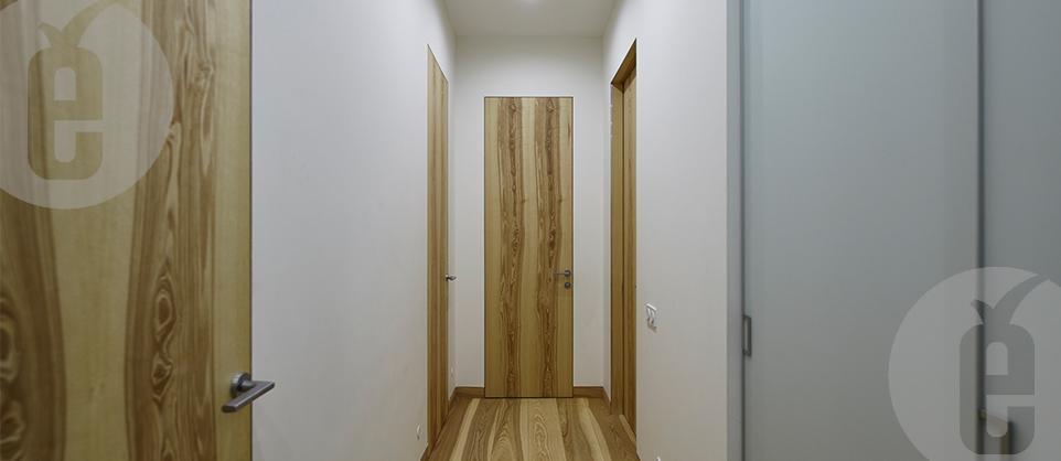 Двери без наличников в шпоне Оливковый Ясень