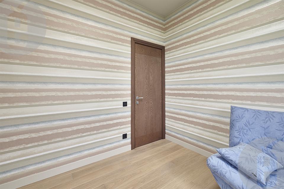 Белые двери со скрытыми петлями в интерьере