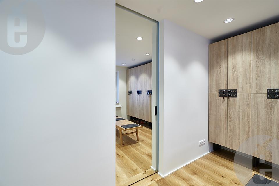 Межкомнатные двери под покраску для студии йоги