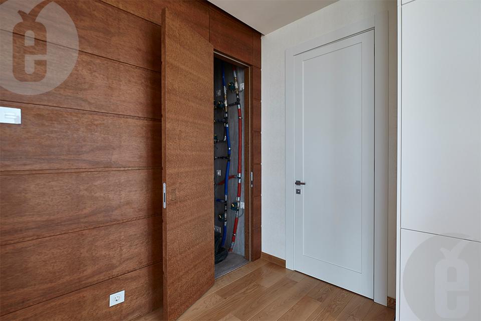 Межкомнатные двери в шпоне Эвкалипт Помеле