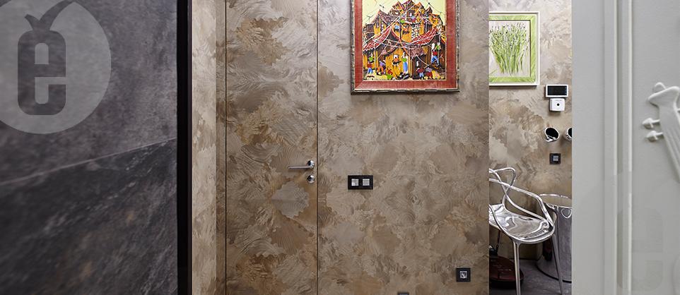 Шпонированные двери с уникальным рисунком