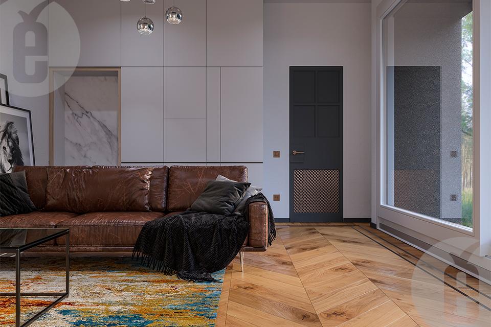 Стильные двери в скрытом коробе из новой коллекции «Бельгия» 2020 г.