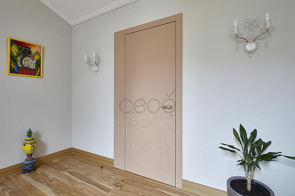 Двери с фрезеровкой