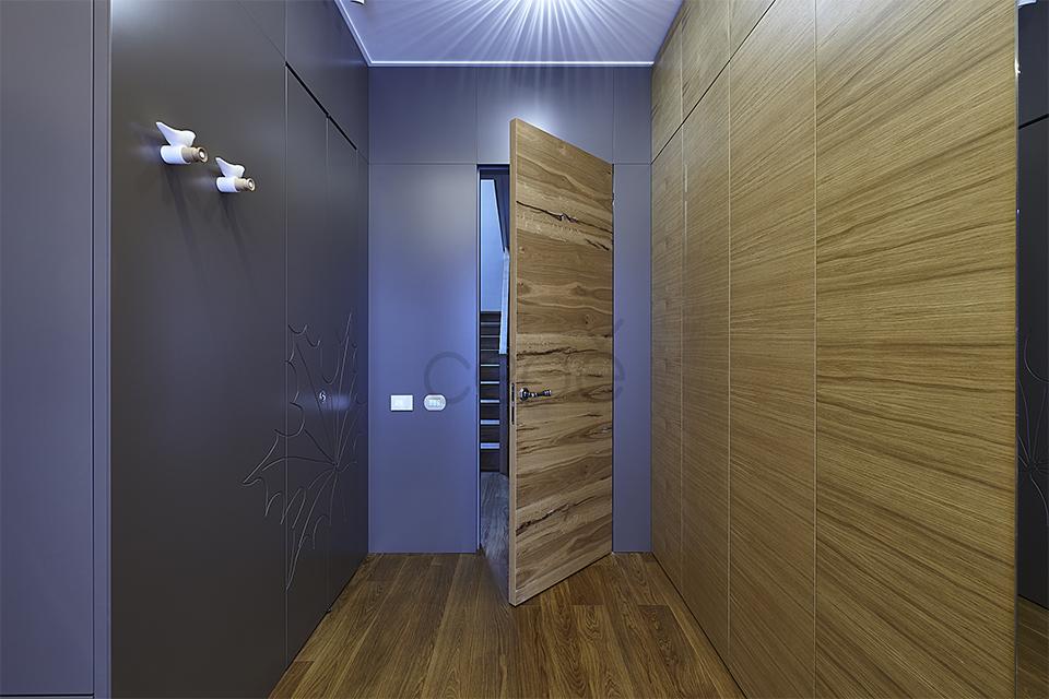 Двери в скрытом коробе