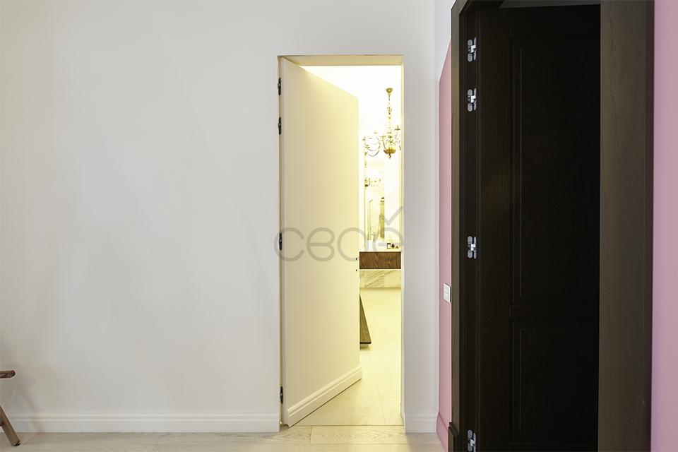 дверь-невидимка для ванной