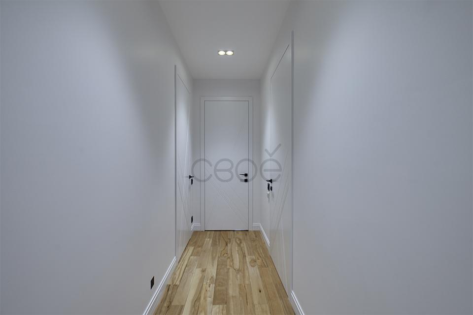 Распашные двери в эмали