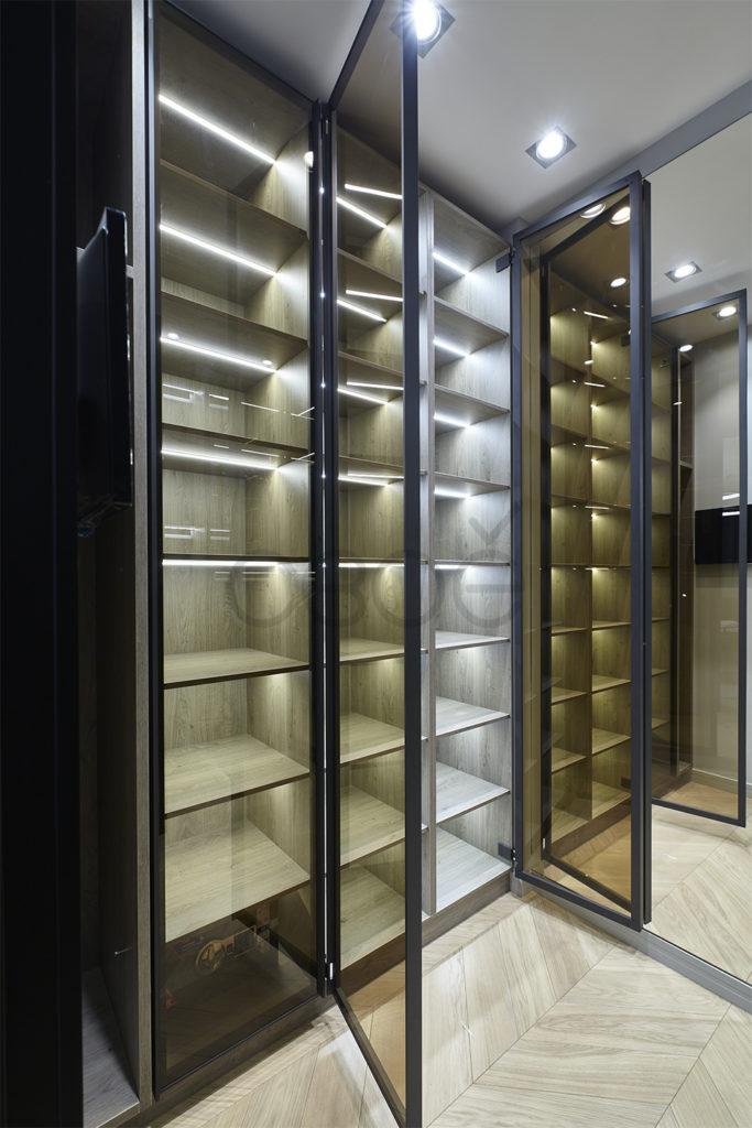 Функциональные шкафы в гардеробной