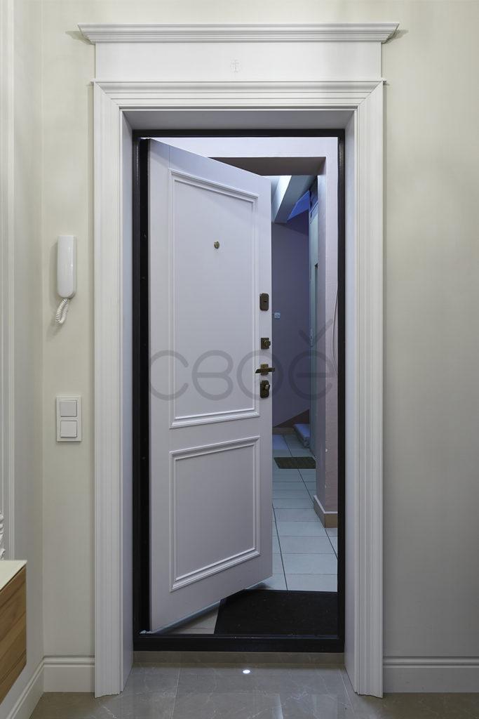 Декорирование входных дверей
