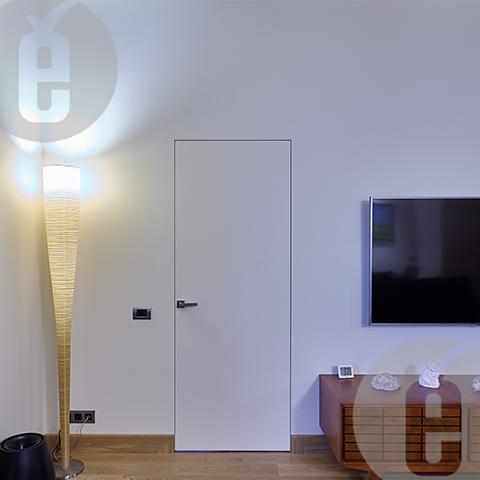 Белые межкомнатные двери для современных интерьеров